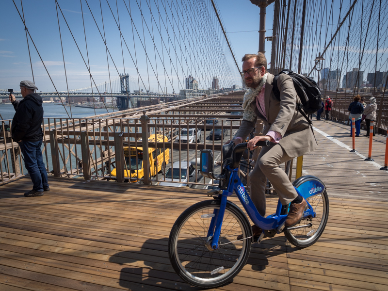 Brooklyn Bridge Citi Bike
