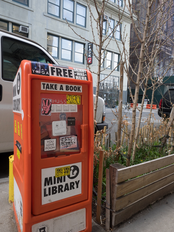 Brooklyn mini library