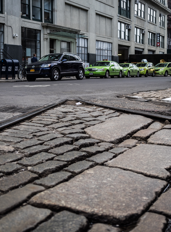 cobblestone road Brooklyn DUMBO