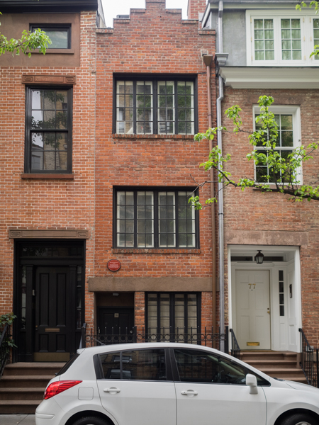 narrowest house manhattan 75 1/2 Bedford Ave