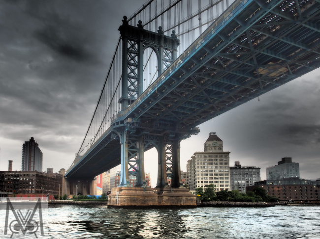 Manhattan Bridge NYC Megan Crandlemire Photography