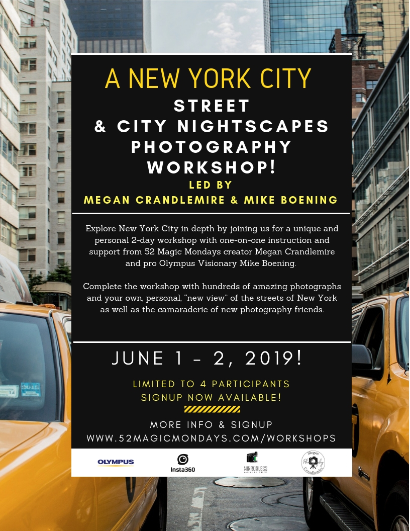 New York City Workshop: June 1 & 2, 2019