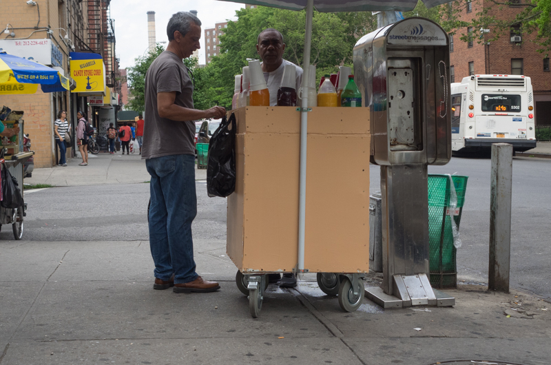 east village street vendor, Megan Crandlemire Photography