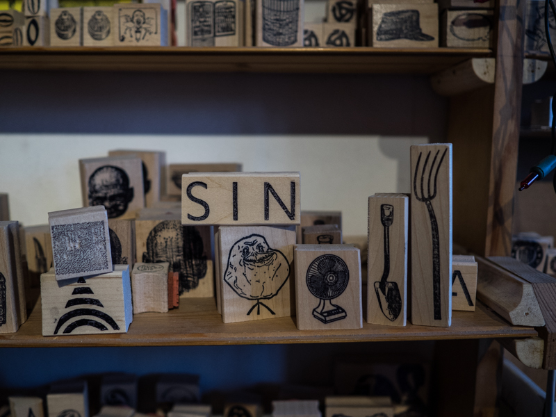 casey's rubber stamps, east village, Megan Crandlemire Photography, Megan Crandlemire Photography