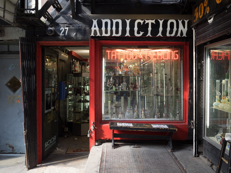addiction east village, Megan Crandlemire Photography