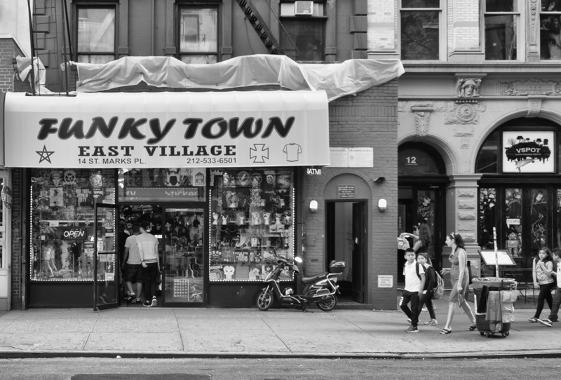 funky town east village, Megan Crandlemire Photography